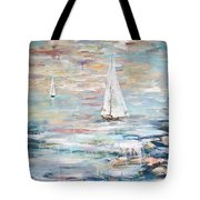 Sailing Away 2 Tote Bag