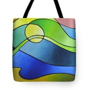 Sailing Away, Canvas Three Tote Bag