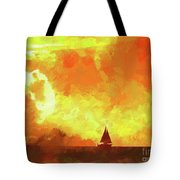 Sailing Away From The Sun Tote Bag