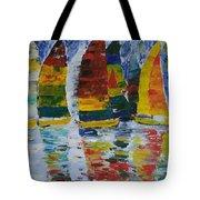 Sailing Away Tote Bag