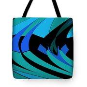 Sailing Blue - Left Tote Bag