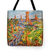 Sailing Boats Tote Bag