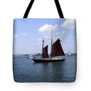 Sailing Boston Tote Bag