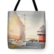 Sailing By Buglight  Tote Bag