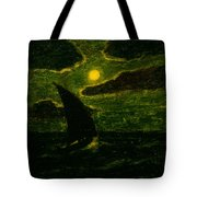 Sailing By Moonlight Tote Bag