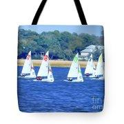 Sailing Charleston Harbor Tote Bag