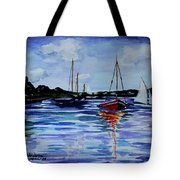 Sailing Day Tote Bag
