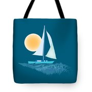 Sailing Day Tote Bag by Gina Harrison