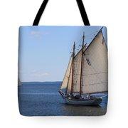 Sailing Downeast Tote Bag