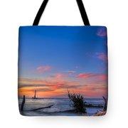 Sailing Hazard Tote Bag