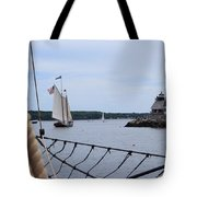 Sailing In Tote Bag