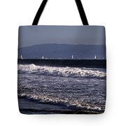 Sailing In Santa Monica Tote Bag