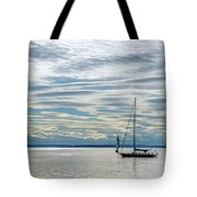 Sailing In Seattle Tote Bag