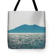 Sailing In The Distance Tote Bag