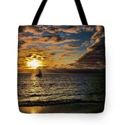 Sailing Into The Sun Tote Bag