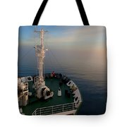Sailing Into The Unknown... Tote Bag