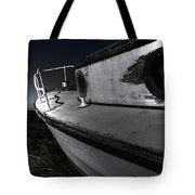Sailing Land Tote Bag
