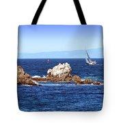 Sailing Monterey Bay Tote Bag