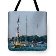 Sailing North Tote Bag