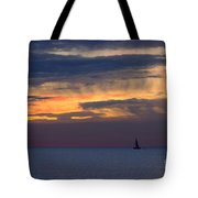 Sailing On A Paint Brush Tote Bag