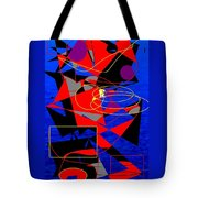 Sailing On An Open Sea Tote Bag