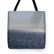Sailing On Lake Pontchartrain Tote Bag