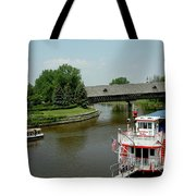 Sailing On The Cass Tote Bag