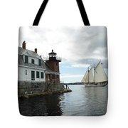 Sailing Out Tote Bag