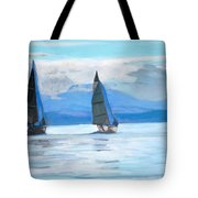 Sailing Race Tote Bag