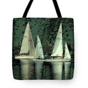 Sailing Reflections Tote Bag
