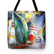 Sailing Regatta Tote Bag