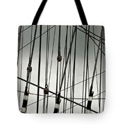 Sailing Rhythm Tote Bag
