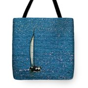 Sailing Solo Tote Bag
