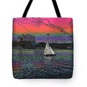 Sailing South Lake Union Tote Bag