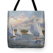 Sailing Sunday Tote Bag