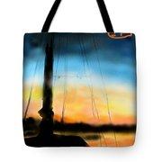 Sailing The Amalfi Coast Tote Bag