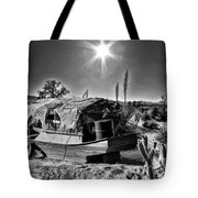 Sailing The Desert Tote Bag