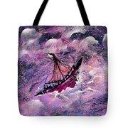 Sailing The Heavens Tote Bag