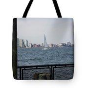 Sailing The Hudson River 1 Tote Bag