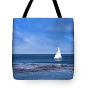 Sailing The Ocean Blue Tote Bag