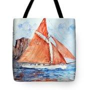 Sailing The Open Sea... Tote Bag