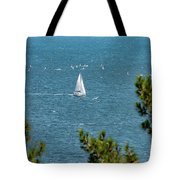 Sailing The Sea Of Marmara Tote Bag