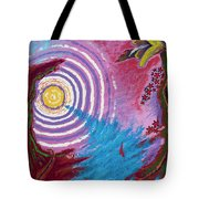 Sailing Through My Thoughts Tote Bag