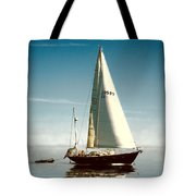 Sailing Through The Watch Hill Pass. Tote Bag