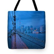 Sailing To The Present Tote Bag