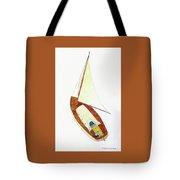 Sailing Watercolor Tote Bag