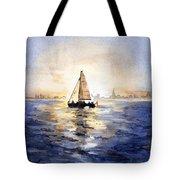 Sailor Eclipse Tote Bag