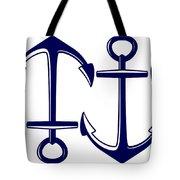 Sailors Anchor Tote Bag