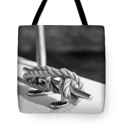 Sailor's Knot Square Tote Bag