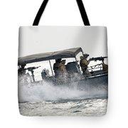 Sailors Patrol Kuwait Naval Bases Tote Bag